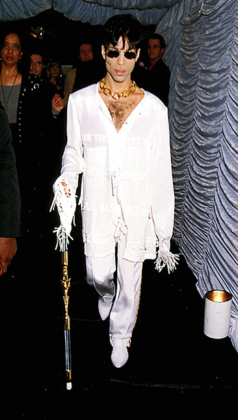 MTV/ VH-1 Party Round House, London. Prince Photo: Dave Benett-Alpha- Globe Photos Inc