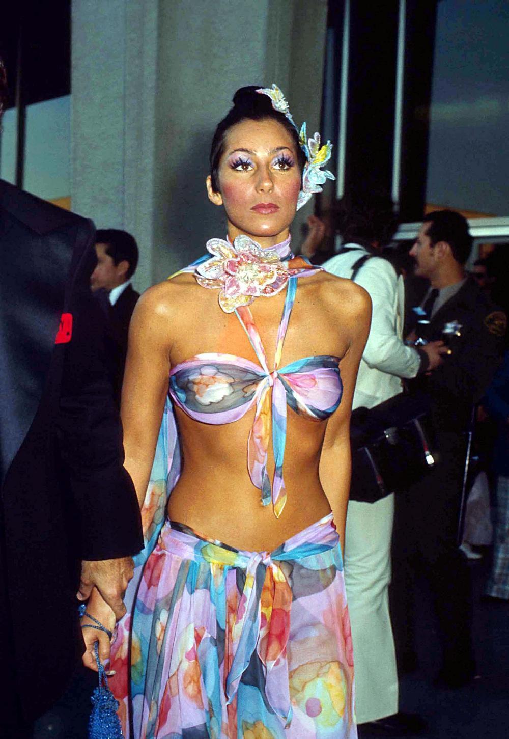 Cher 1974 Oscars