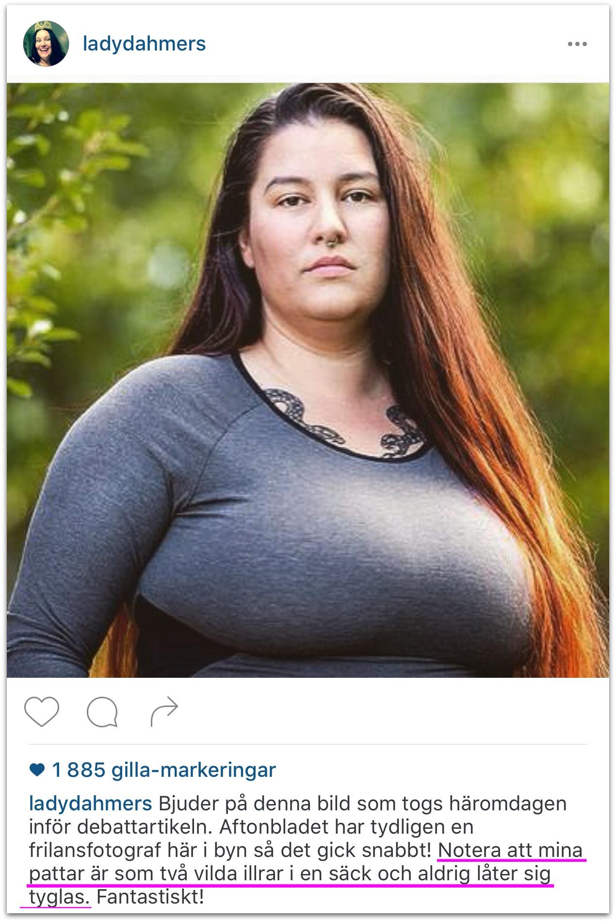 tuttar stora bröst