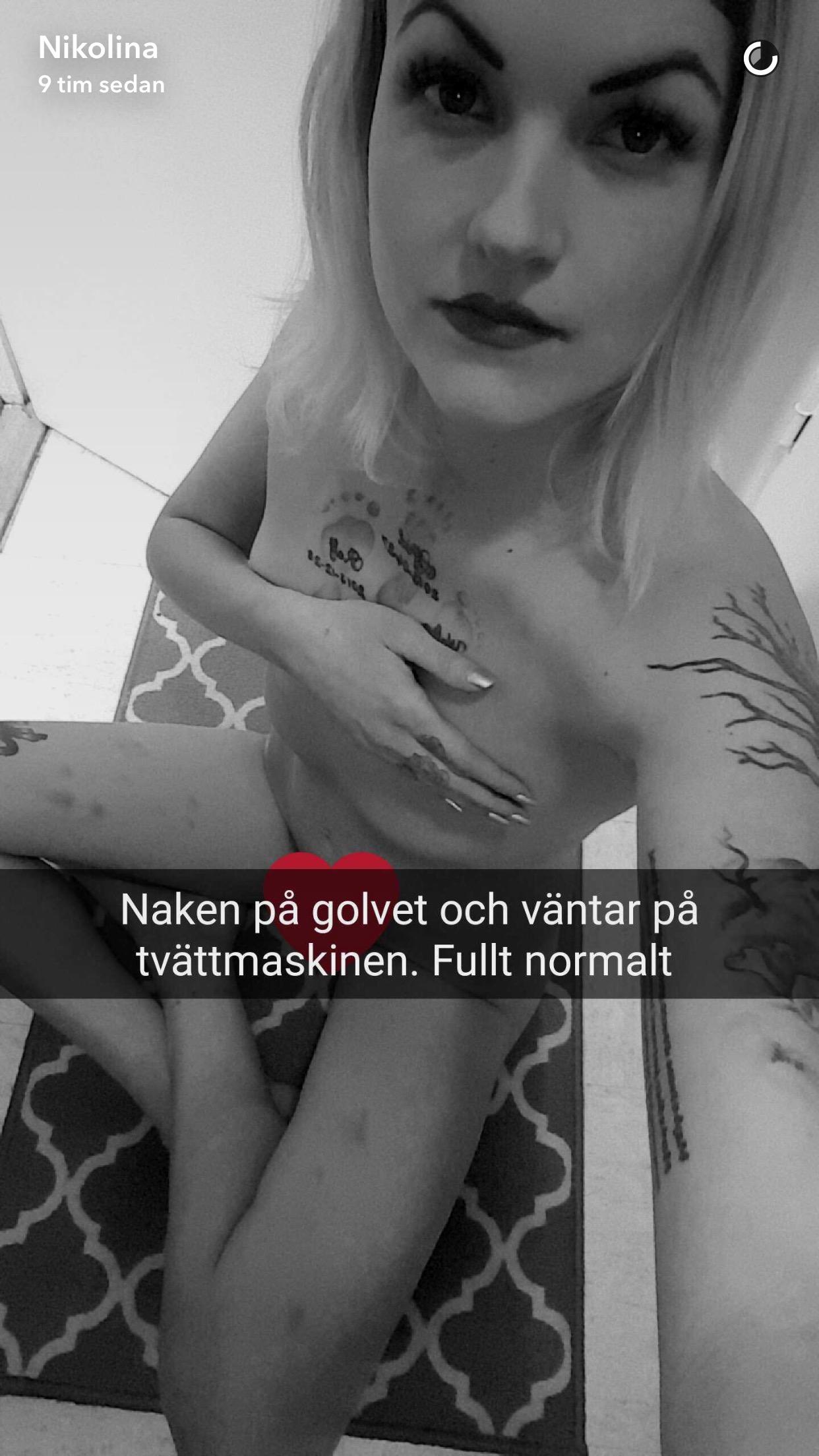 snapchat slampa liten i Malmö