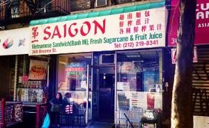 saigon vietnamese sandwished