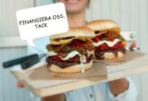 crowdfunding för veganska hamburgerstället grub igång
