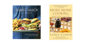 """Shake Shack - Recipes and stories"" och ""More Home Cooking"""