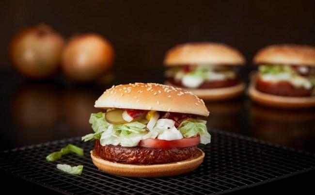 McVegan - Första veganska hamburgaren från McDonalds