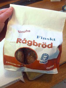 Finska rågbröd Sinuhe