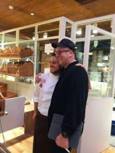 Eataly Stockholm: Pelle Lydmar tillsammans med Eatalys huvudbagare