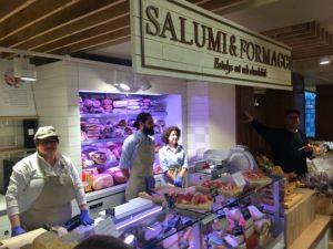 Eataly Stockholm: ost och charkdisk