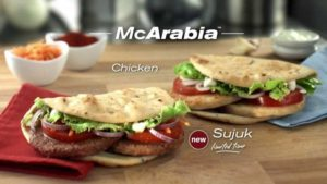 """f6f64205785c McArabia är en skapelse med kyckling i pitabröd som dök upp på vissa  McDonalds i arabländerna och i Pakistan år 2003 för att """"meet Middle  Eastern local ..."""