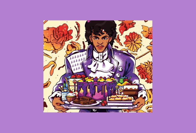 Kokboken som är inspirerad av Prince