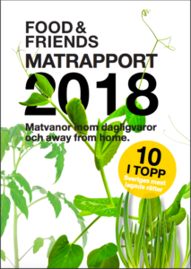 Matrapporten 2018 av Food & friends