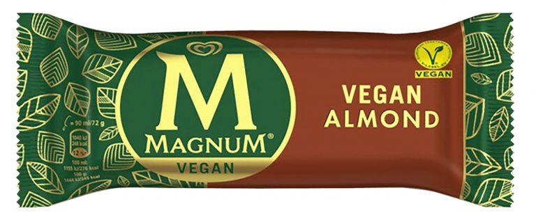 Magnum lanserar vegansk glass: Magnum Almond Vegan