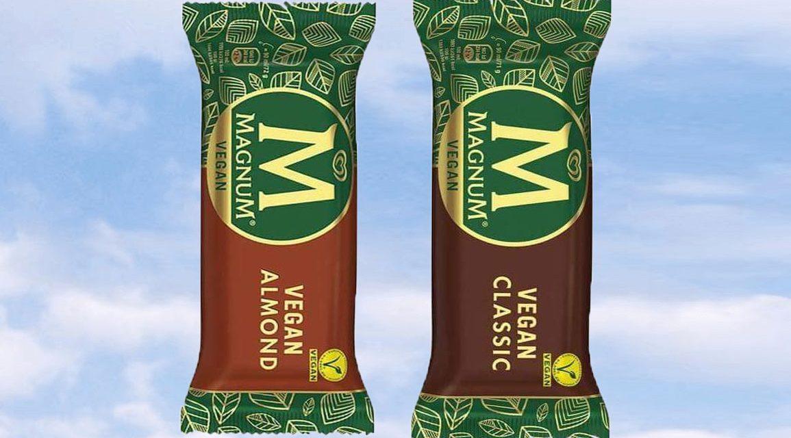 Magnum lanserar två veganska glassar