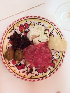 Siciliansk lunch med Mandrarossa på L'avventura