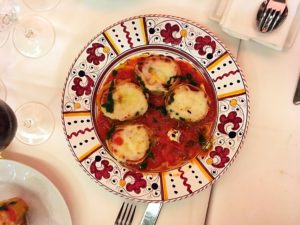 Siciliansk lunch med Mandrarossa på restaurang L'avventura