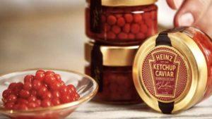 Ketchupkaviar från Heinz