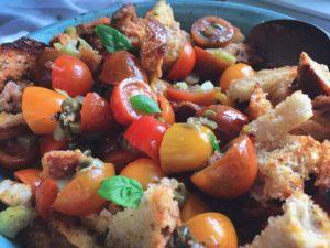 panzanella - italiensk brödsallad