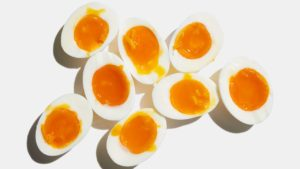 Djävulsägg för latmasken: löskokta ägg redo att smaksättas